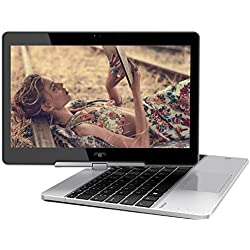 "2018 HP EliteBook Revolve 810 G3 11.6"" HD Touchscreen Laptop Computer, Intel Core i5-5200U up to 2.70GHz, 4GB RAM, 128GB SSD, USB 3.0, WLAN 802.11ac, Windows 10 Professional"