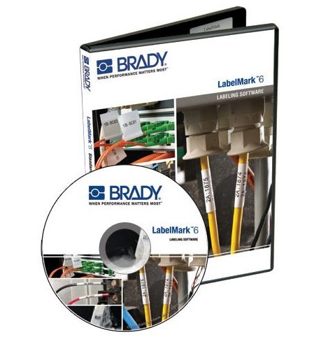 Brady 143511, Catalog# LM6PROCD LabelMark 6, Labeling Software