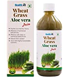 Healthvit Wheat Grass Aloevera Juice - 500 ml