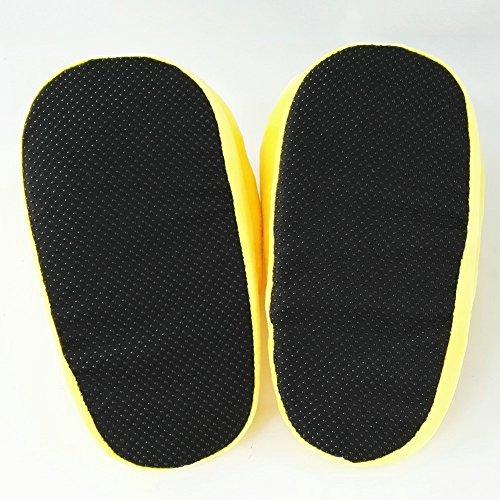 Emoji Emoticon Zapatillas Cómodo Térmica Vellocino Invierno Casa Zapatos Besos