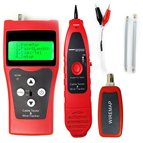 Gain Express Digital Network LAN Telephone Coaxial BNC USB Cable Tracker Tester
