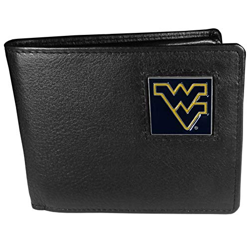 - NCAA West Virginia Mountaineers Leather Bi-fold Wallet