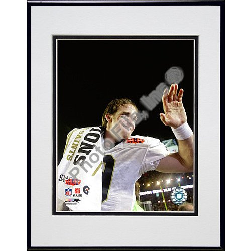 (Photo File New Orleans Saints Super Bowl XLIV Champions Drew Brees Framed Photo )