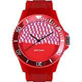 PICONO Block Playground Resistant Analog Quartz Watch - BA-BP-02