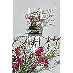 Artificial-Fuchsia-Freesia-Ikebana-Japanese-Floral-Arrangement