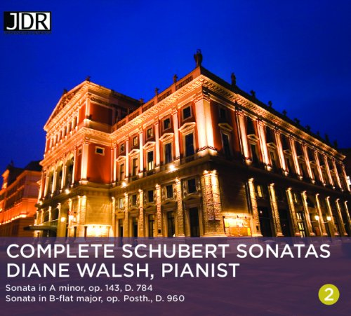 Schubert Sonatas Vol. 2 by Jonathan Digital Recordings