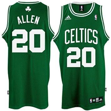hot sale online 4f624 de233 Ray Allen Jersey: adidas Green Swingman #20 Boston Celtics ...