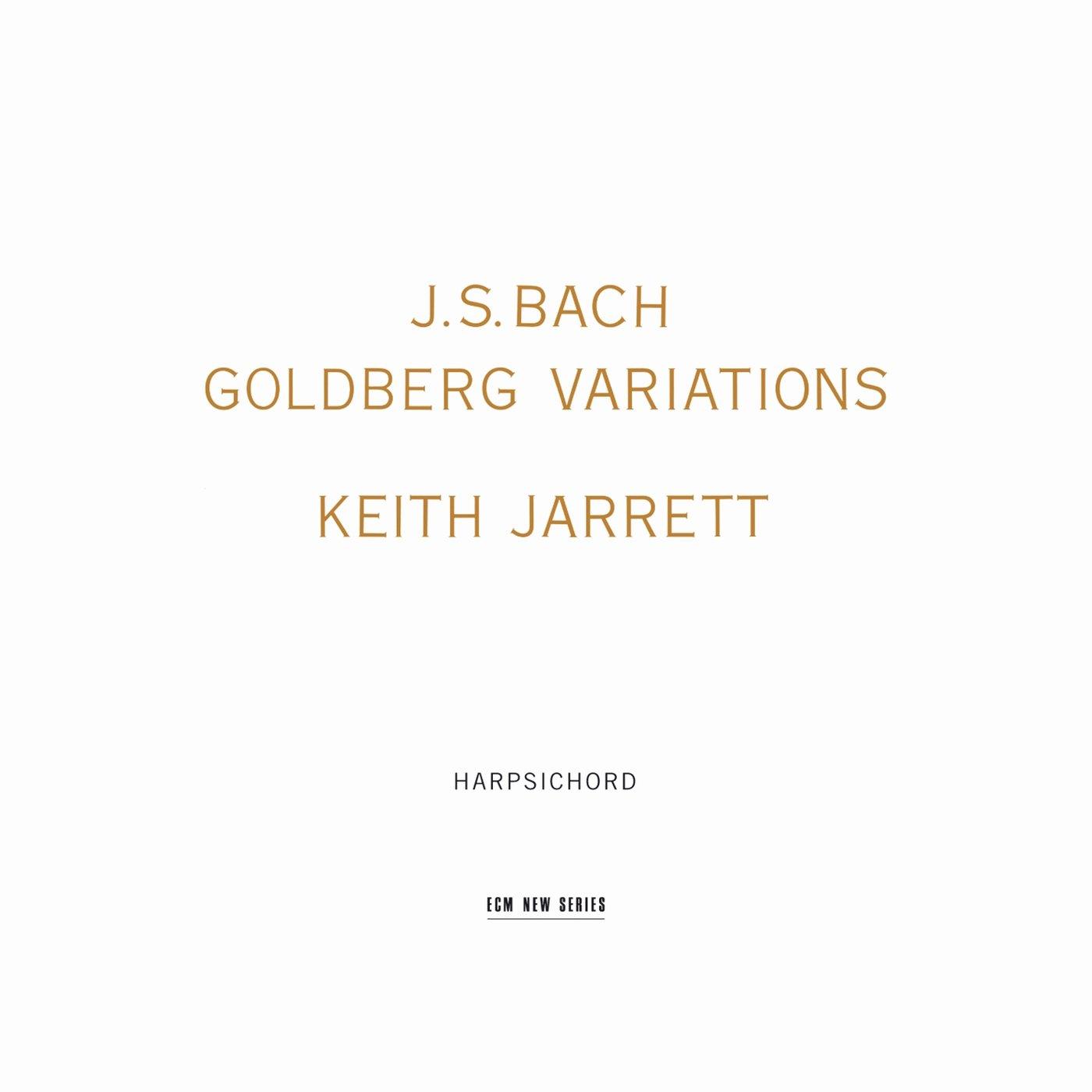 Bach: Goldberg Variations / Keith Jarrett