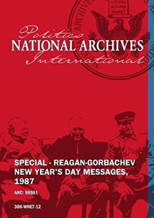 special reagan gorbachev new years day messages