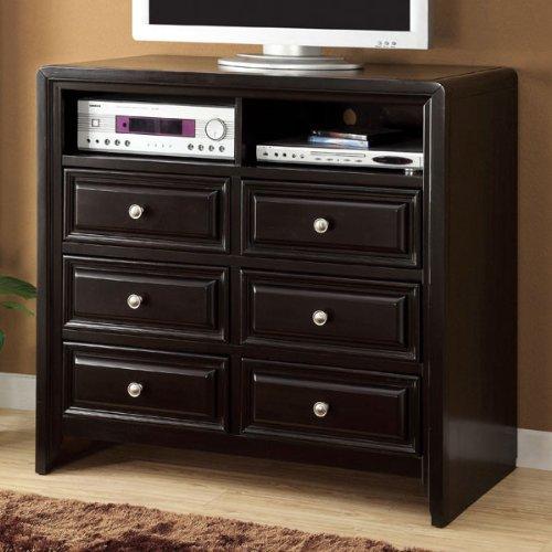 (24/7 Shop at Home 247SHOPATHOME IDF-7058TV-42 TV Stand, Espresso)
