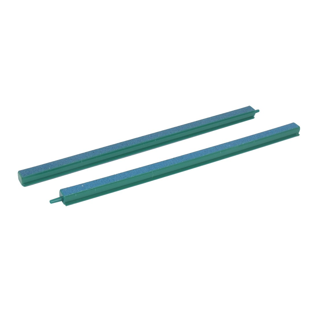 uxcell Aquarium Air Stone Airstone Oxygen Diffuser 14 Inch 2pcs Green Blue