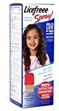 Licefreee Spray Large Family Size Head Lice Treatment (Kills Lice and Eggs on Contact) Includes Professional Metal Nit Comb, 12 Fluid Ounce (4 Pack)