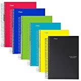 Five Star Spiral Notebooks 1-Subject College Ruled 100-Sheet 6-Pack Deal