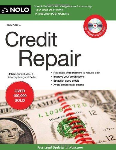 Credit Repair by Robin Leonard, Attorney Margaret Reiter (June 6 ...