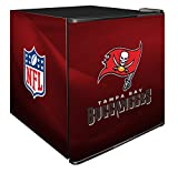 NFL Tampa Bay Buccaneers Refrigerated Counter Top Cooler, Small, Red
