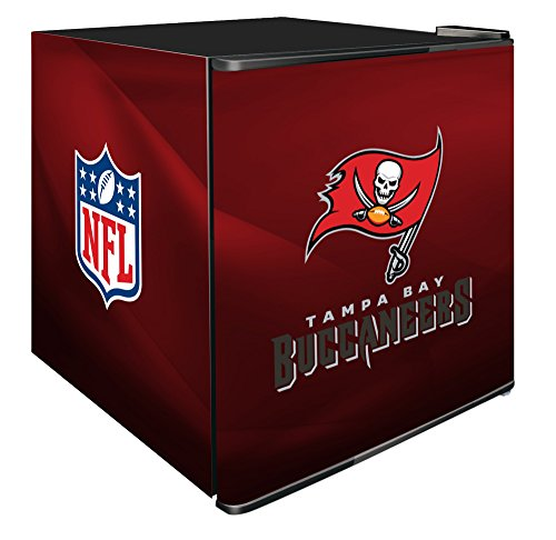 NFL Tampa Bay Buccaneers Refrigerated Counter Top Cooler, Small, Red by SG Merchandising Solution