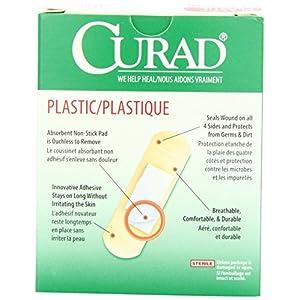 Medline Curad Plastic Adhesive Bandages 1 BX
