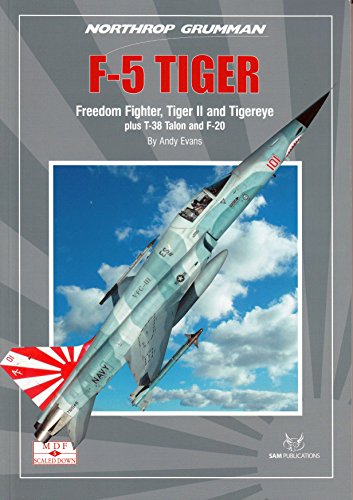 SAMSD005 SAM Publications MDF Scaled Down - F-5 Tiger, used for sale  Delivered anywhere in USA