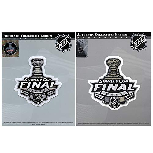 2019 Stanley Cup Final & 2011 Jersey Boston Bruins Patch Combo ()