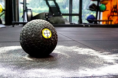 POWER GUIDANCE Slam Ball, Medicine Ball, Weight Available, 6, 8, 10, 15, 20, 25, 30 Lbs, Dead Weight Great for Core Training Cardio Workouts