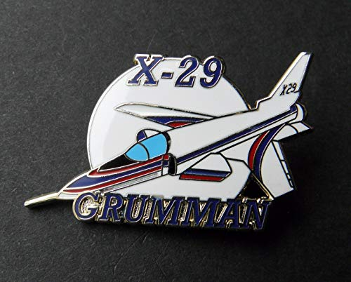 Pin for Hats - Grumman X-29 NASA Experimental Forward Wing Test Aircraft Lapel PIN Badge 1.5 '' - Decoration for - Experimental Wings