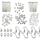 TOAOB Silver Jewellery Making Starter Kit findings