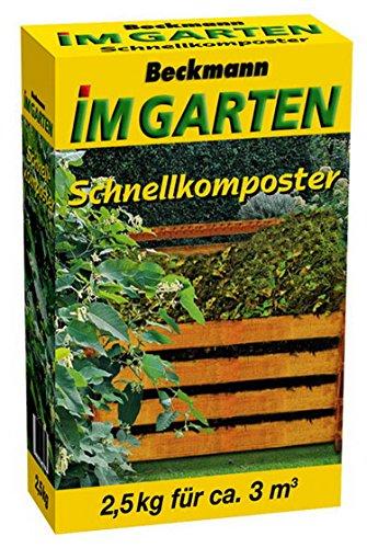 Beckmann im Garten 954702 Schnellkomposter mit Guano 2.5 kg-Eimer