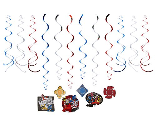 Power Rangers Ninja Steel Swirl Value Pack, Party Favor