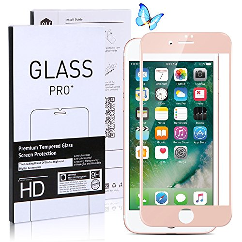 iPhone 7 Plus Screen Protector, 3D Full Coverage, Edge to Edge Curved...
