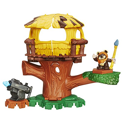Star Wars Galactic Heroes Endor Adventure with Wicket Action -