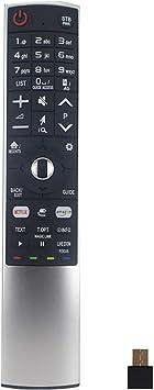 Ihandytec MR-700 LG - Mando a distancia de repuesto para televisores inteligentes LG (LED, LCD, plasma), compatible con MR600 MR650, color plateado: Amazon.es: Electrónica