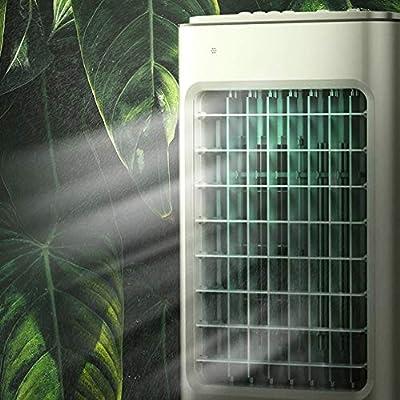 YZPLFS Enfriador de Aire sin aspas móvil, Ventilador eléctrico y humidificador con Control Remoto, acondicionador de Aire de 3 Modos for Habitaciones Interiores de Oficina en casa (28.3 Pulgadas): Amazon.es: Hogar