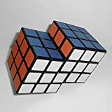 2-In-6 Conjoint Puzzle Magic Cube 3X3X3 Black (New Version) Cubo Magico Educational Toy Special Kids Toys-