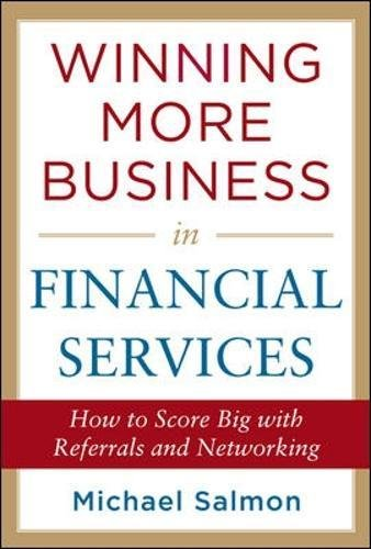 Winning More Business In Financial Services  Business Books
