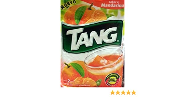 Amazon.com : 3 X Tang Mandarina Flavor No Sugar Needed Makes 2 Liters of Drink 15g From Mexico : Powdered Drink Mixes : Grocery & Gourmet Food