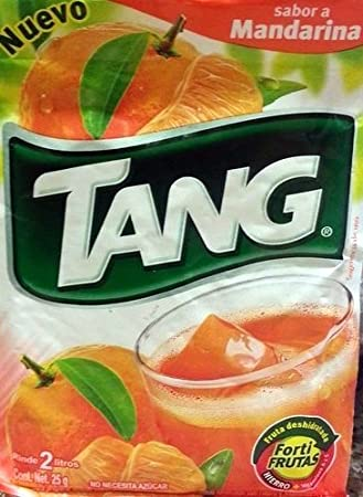 3 X Tang Mandarina Flavor No Sugar Needed Makes 2 Liters of Drink 15g From Mexico