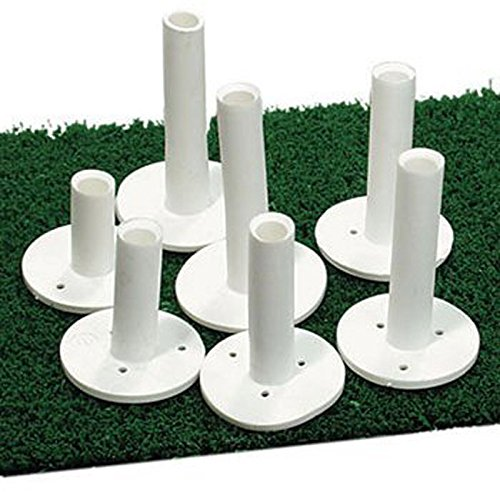 Rubber Golf Tee - Dura Rubber Golf Tee 3.25'' (5 Pack)