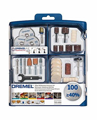 Dremel 2.615.S72.3JA Kit de 100 accesorios variados
