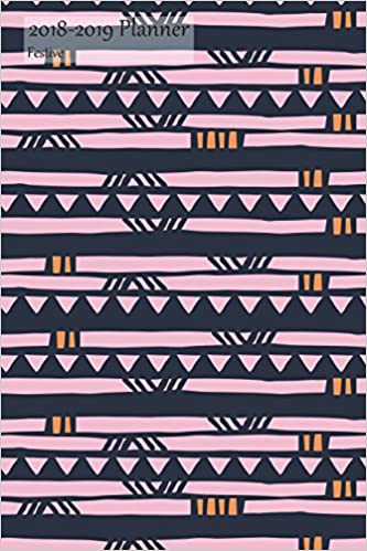 2018 2019 planner festive academic student school planner july 2018 2019 weekly calendar organizer pink tribal views cover 6x9 with yearly and montly