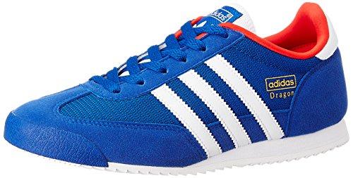 adidas Originals Dragon Unisex-Kinder Sneakers Blau (Collegiate Royal/Ftwr White/Red)