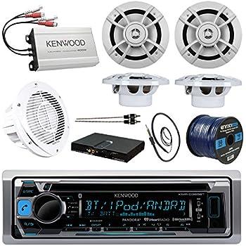 Amazon Com Boat Sound System Package Kenwood Marine