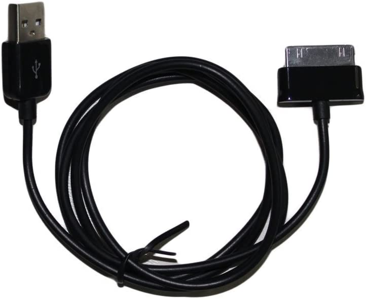 4X 6FT USB 30PIN BLACK CABLE DATA SYNC CHARGER SAMSUNG GALAXY TAB 7.0 8.9 10.1