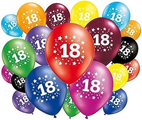 FABSUD 20 Globos Cumpleaños 18 Años