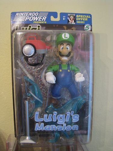 Luigi's Mansion Figure MOC Rare Nintento Figure