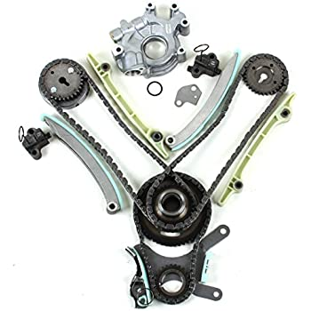 Timing Chain Kit /& Oil Pump Set for 99-04 Jeep Grand Cherokee 4.7L JTEC Design Dodge 00-02 New TK9000WPOP 70-Links Water Pump
