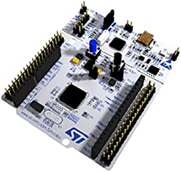 STMicroelectronics NUCLEO-F446RE Model STM32 Nucleo-64 Development Board with STM32F446RE MCU, Supports Arduino and ST Morpho Connectivity
