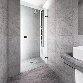 Dreamline unidoor 24 in width frameless hinged shower door 38 vigo tempo 24 to 245 in adjustable frameless shower door with 3125 planetlyrics Image collections