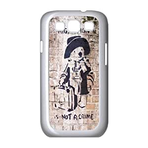 Street Graffiti Art Banksy Hard Plastic phone Case Cover For Samsung Galaxy S3 ZDI094376