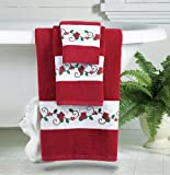 Best Collections Etc Bath Towels - Holiday Printed Bath Towels - Set of 3 Review