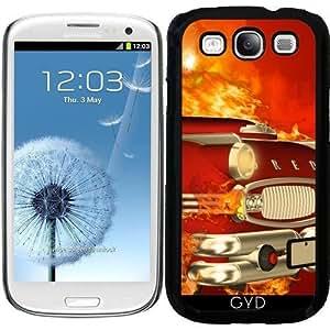Funda para Samsung Galaxy S3 (GT-I9300) - El Coche Rojo by nicky2342